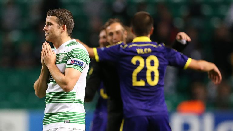 Celtic: Crashed out of the Champions League to Maribor