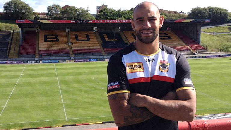 Chev Walker: Has signed a new one-year contract with Bradford Bulls