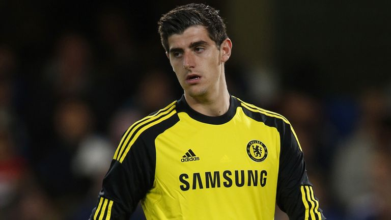 Thibaut Courtois: Replaced Petr Cech as first-choice goalkeeper at Chelsea