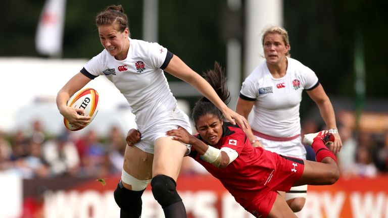 Emily Scarratt: Women's game getting stronger