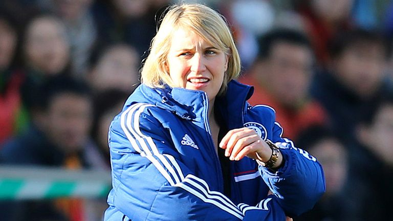 Emma Hayes: Proud to be only female boss in FA WSL