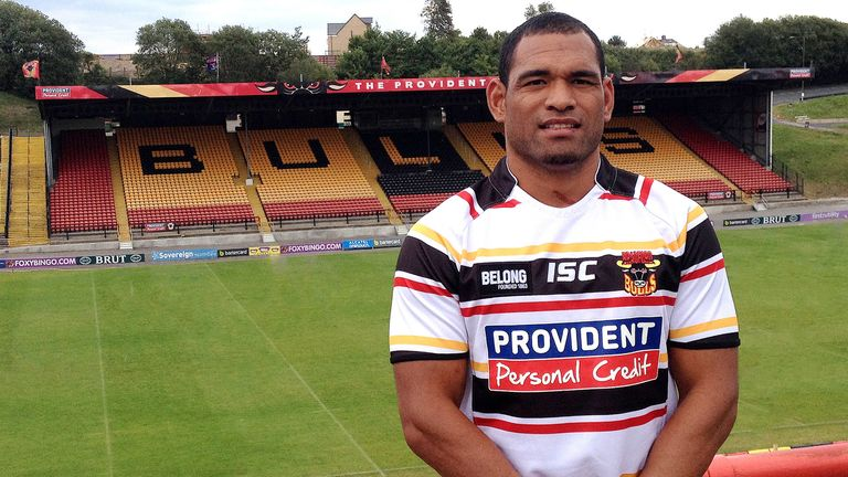 Etu Uaisele: New signing for the Bradford Bulls