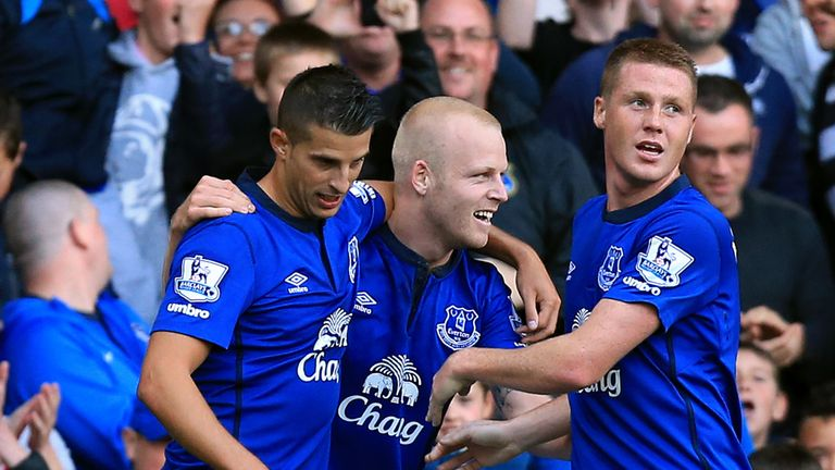 Everton: Will face Wolfsburg, Lille and FC Krasnodar