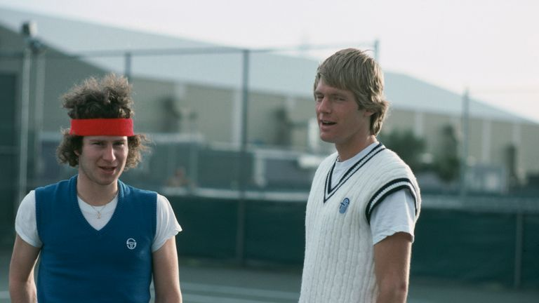 John McEnroe and Peter Fleming won seven Grand Slam doubles titles together