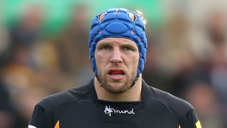 Wasps captain James Haskell
