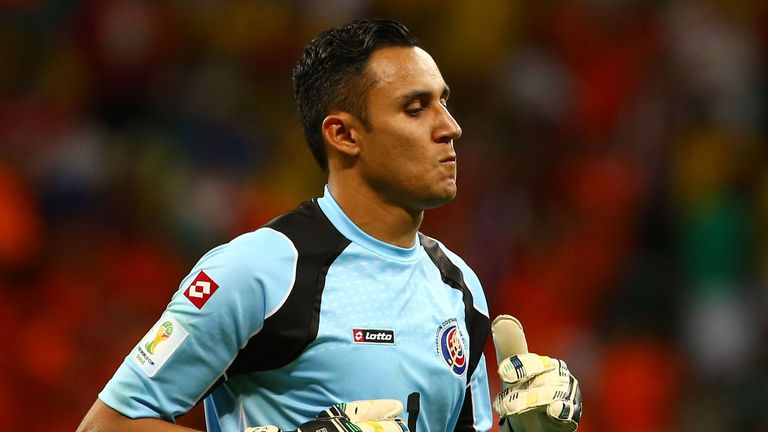 Keylor Navas: Expects tough competition