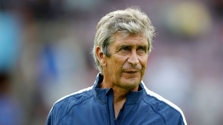 Manuel Pellegrini: Ready for tough Stoke test