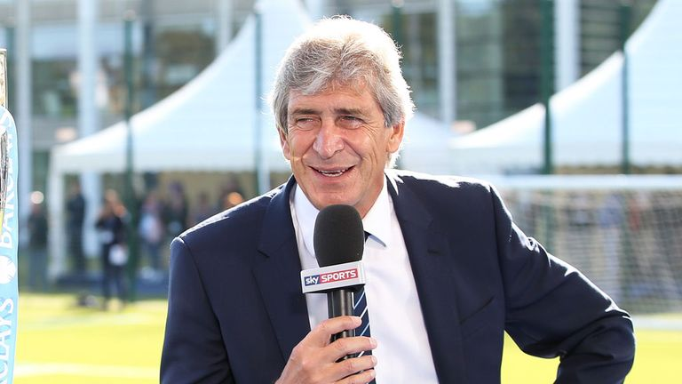 Manuel Pellegrini: Delighted with the quality of his squad