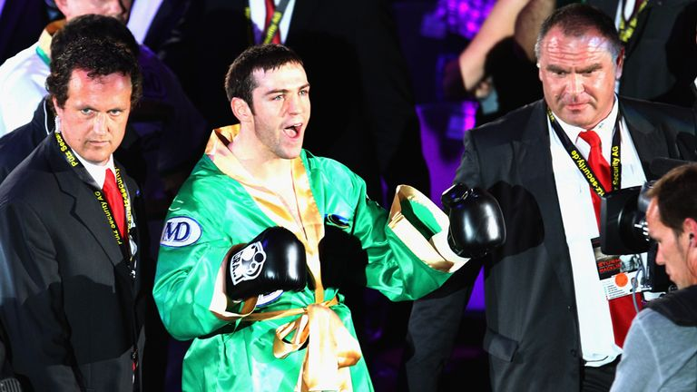 Matthew Macklin: Looks to have linked up with Joe Gallagher