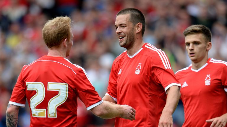 Matty Fryatt: Celebrates his goal against West Brom