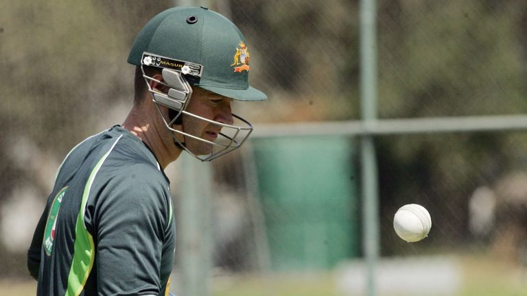 Michael Clarke: Back for Sunday's tri-series clash with Zimbabwe.