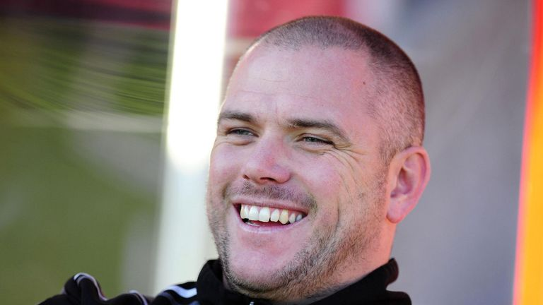 Jim Bentley: Happy striker is staying put