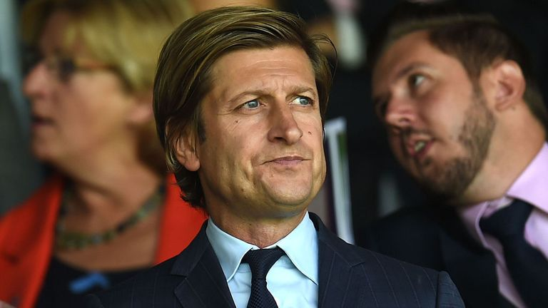Steve Parish: Has only interviewed two candidates