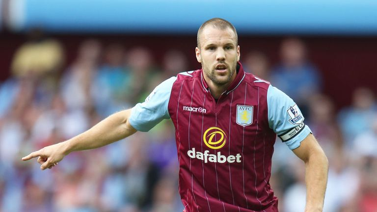 Ron Vlaar: Skippered Aston Villa in their final pre-season friendly