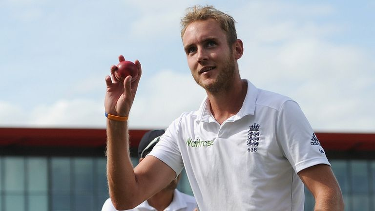Stuart Broad: Vows to be back fit and ready for World Cup