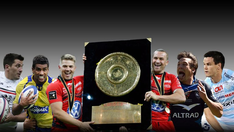 The Top 14 season kicks off on Friday with Bayonne v Toulon live on Sky Sports