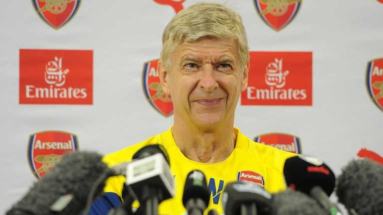 Arsene Wenger: Arsenal host Palace in opener