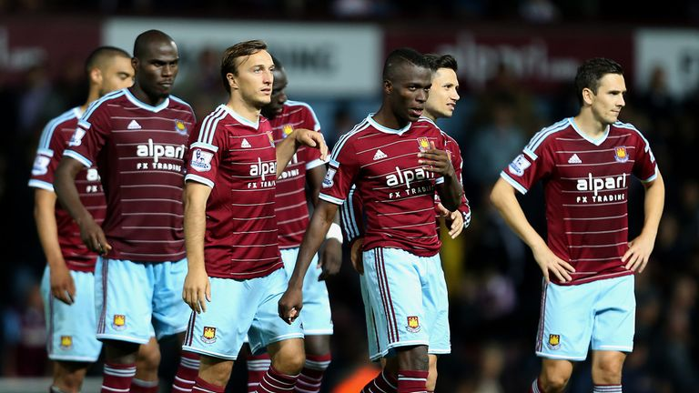 West Ham: Left dejected after shootout