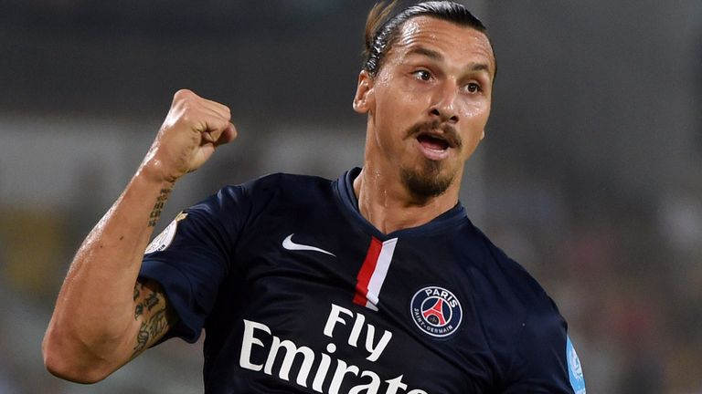 Zlatan Ibrahimovic: Has tipped PSG for Champions League joy