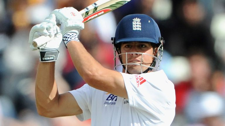 Alastair Cook, booking in for bed and breakfast