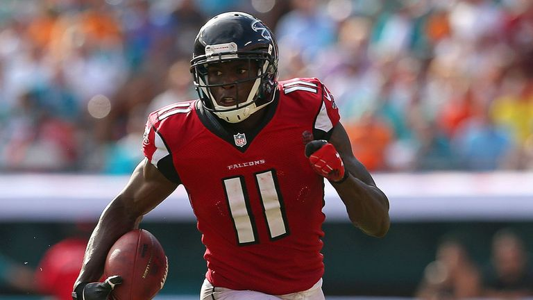 Julio Jones and the Falcons have found form at the perfect time