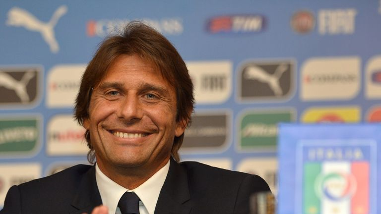 Antonio Conte: Presented to the media on Tuesday
