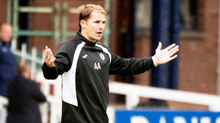 Alan Archibald: Partick boss was unhappy after the 1-1 draw at Dundee