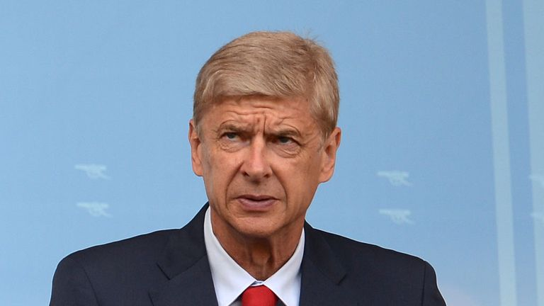 Arsenal manager Arsene Wenger takes his team to Istanbul on Champions League duty