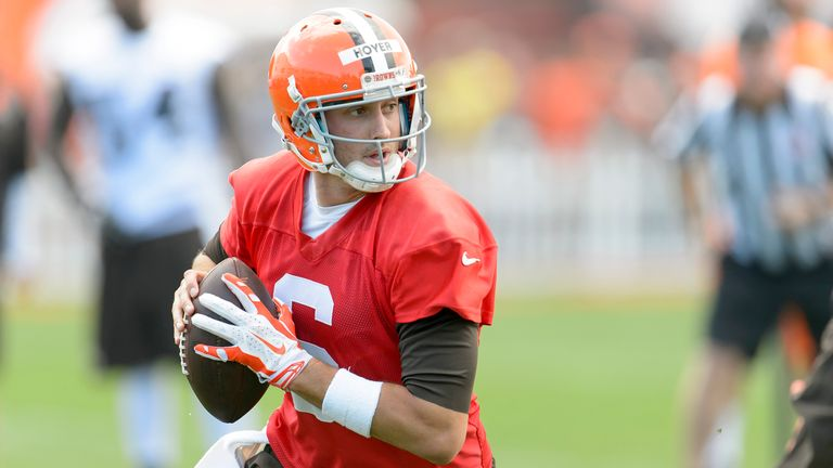 Brian Hoyer: Named as the starting quarterback for the Cleveland Browns