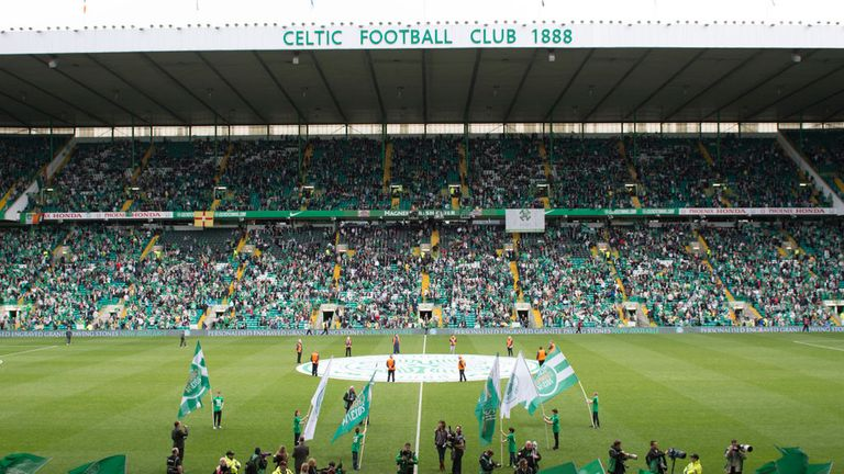 Celtic Park. Club disappointed after having 'safe seating plan' rejected