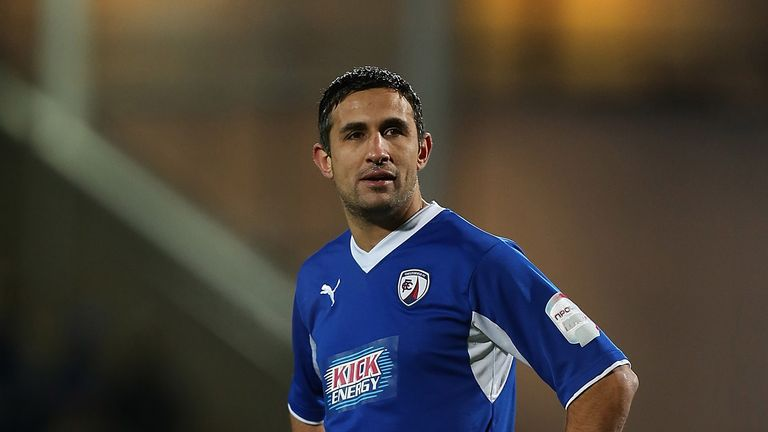 Jack Lester: Playing for Chesterfield in 2013