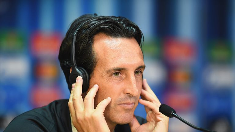 Unai Emery: Sevilla coach speaks to media on Monday