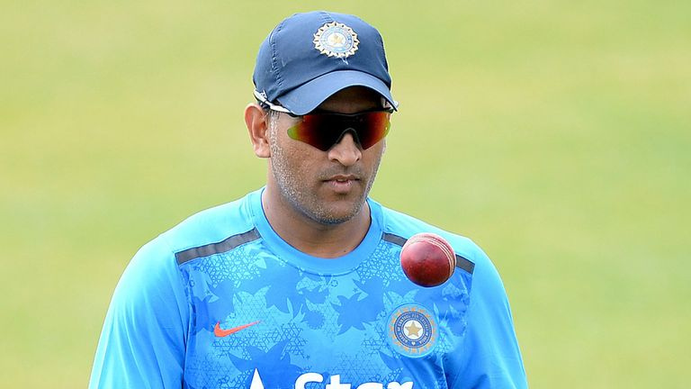 MS Dhoni says his players have responded well to the disappointment of losing the Test series