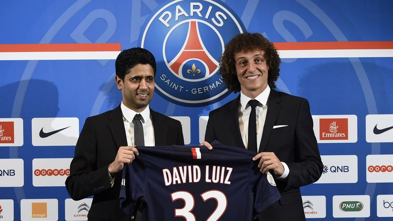 David Luiz: Unveiled by PSG