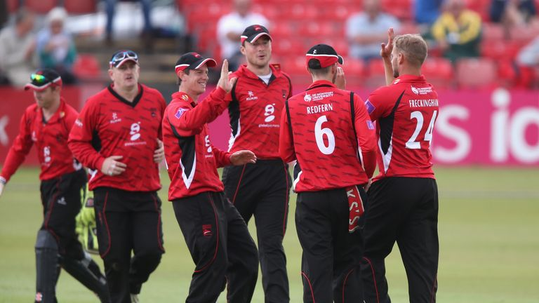 All smiles: Leicestershire remain on course for a place in the Royal London Cup quarter-finals