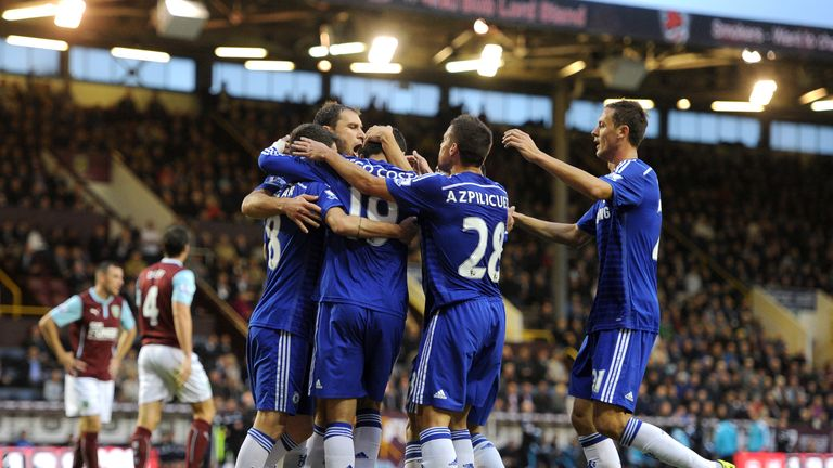 Chelsea: took the total number of goals to 26 on the opening weekend
