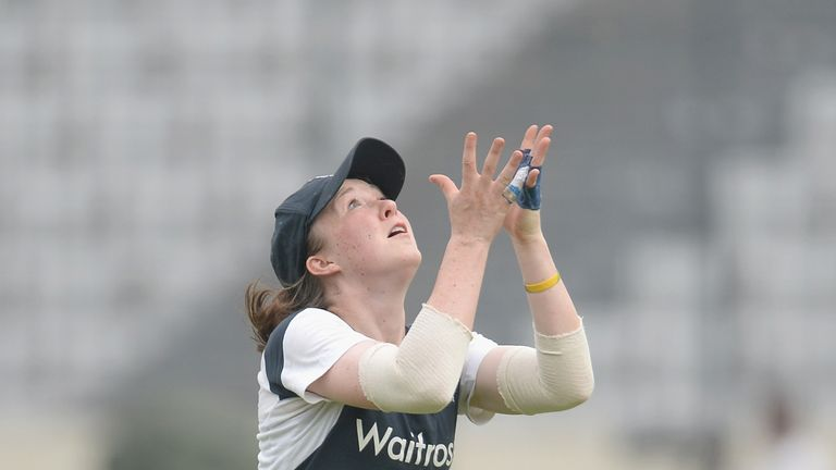 Rebecca Grundy: Will miss the rest of the season, including the Test against India