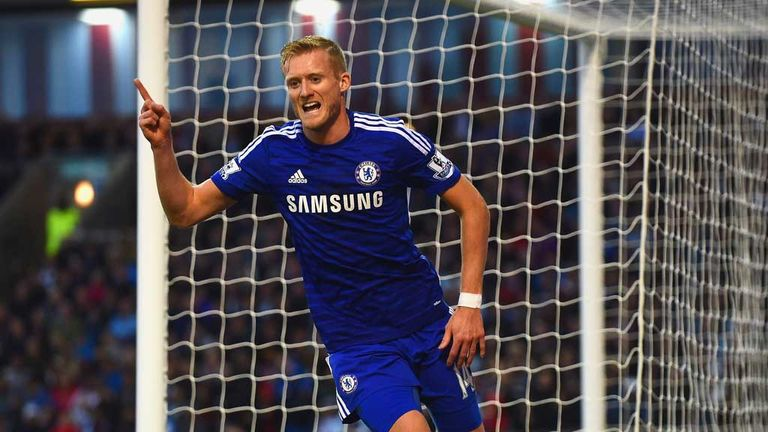 Andre Schurrle: Brought his World Cup form to Burnley as Chelsea showed their class