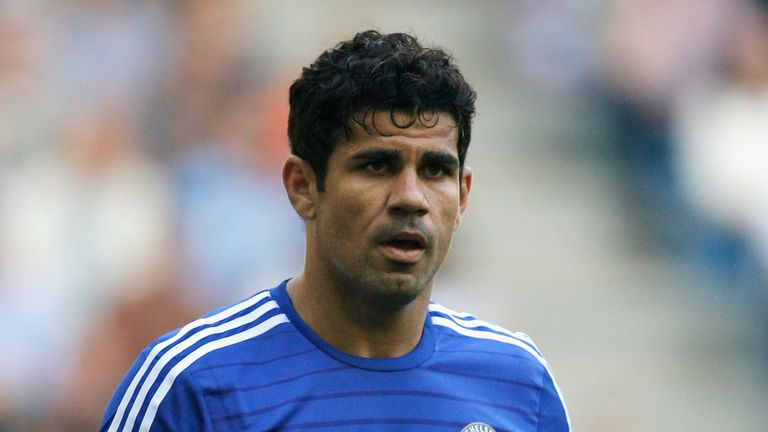 Costa: is being treated for a hamstring injury