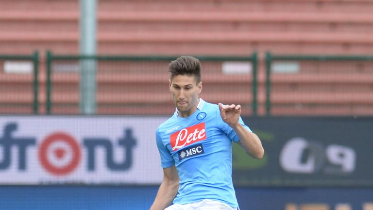 Federico Fernandez in action for Napoli