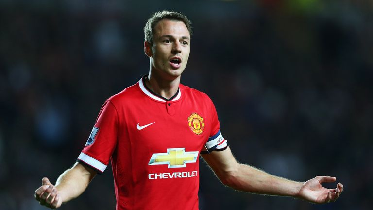 Jonny Evans: Manchester United defender pleased with captaincy role