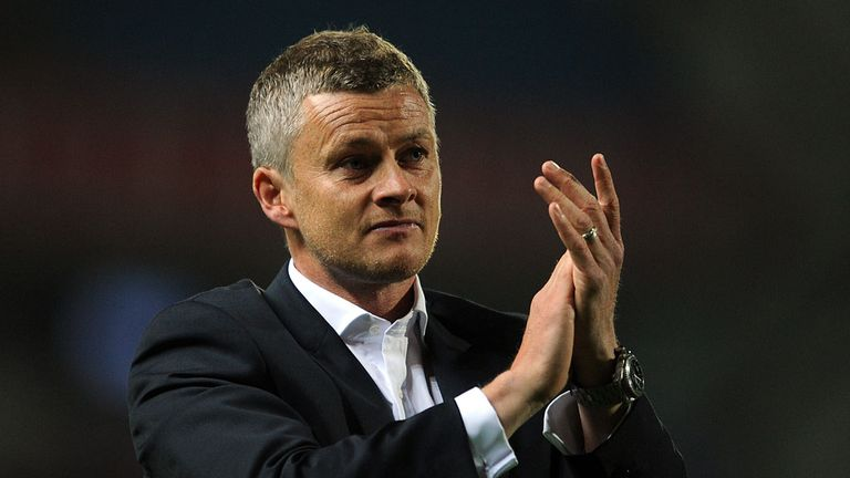 Ole Gunnar Solksjaer: Watched his side win at Port Vale