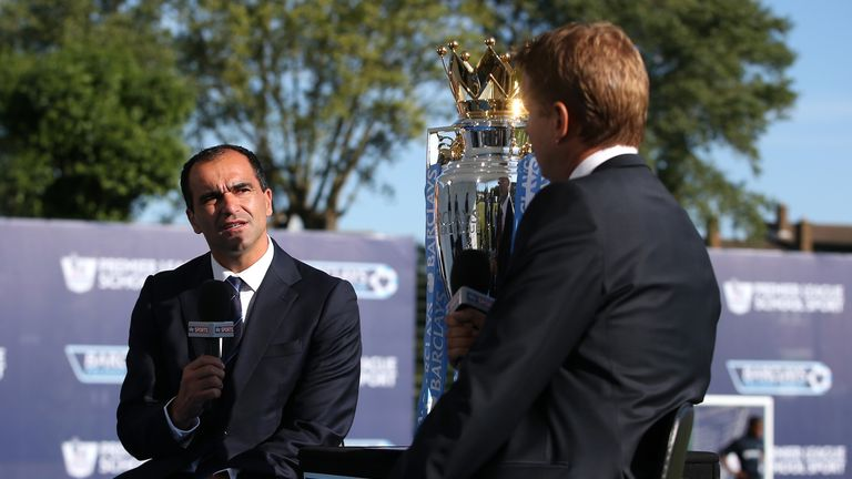 Roberto Martinez: Speaking to Sky Sports' Ed Chamberlin on Wednesday