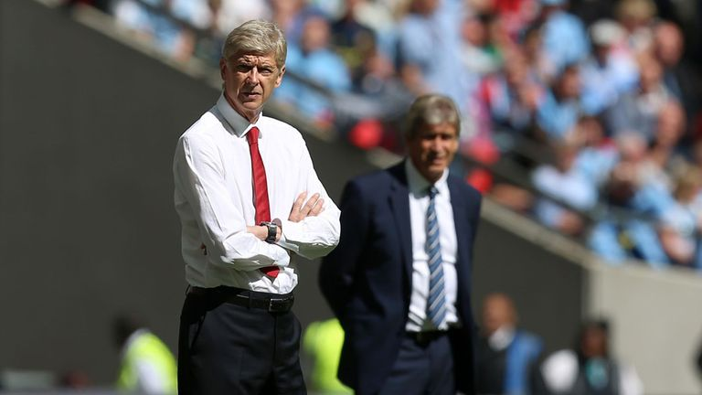 Arsene Wenger: Arsenal boss saw his side overcome Manchester City