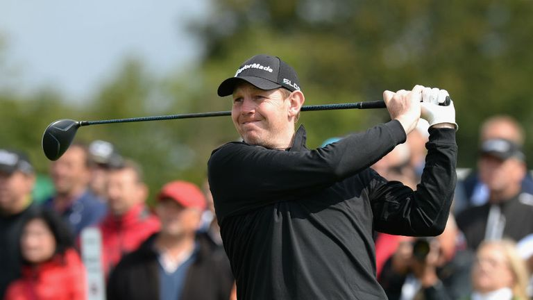 Stephen Gallacher: is close to flying the Scottish flag at Gleneagles