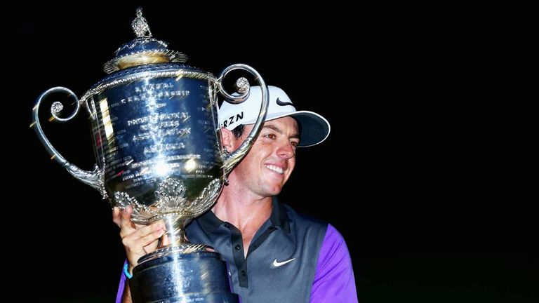 Rory McIlroy is in the form of his life having won his last three tournaments