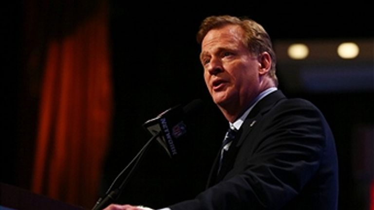 Roger Goodell: Has announced stricter penalties for domestic violence.
