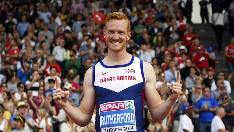 Greg Rutherford: Owns Olympic, Commonwealth and European long jump titles