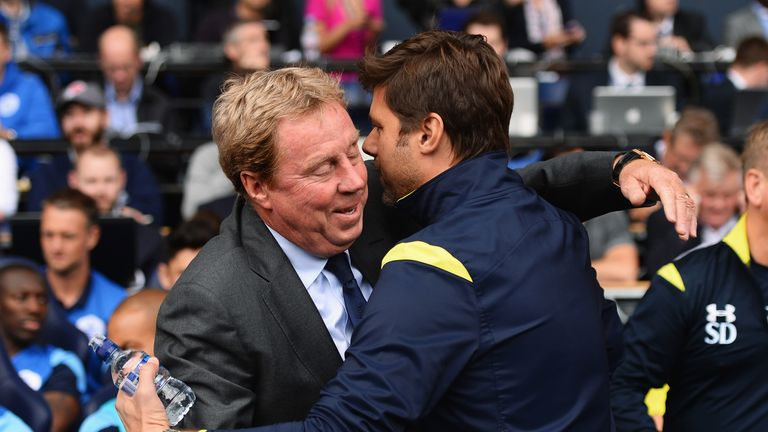 Harry Redknapp: Suffered a 4-0 defeat on his return to White Hart Lane