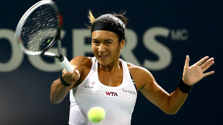 Heather Watson: Suffered a first round defeat